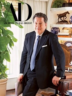 William W. Stubbs in Architectural Digest